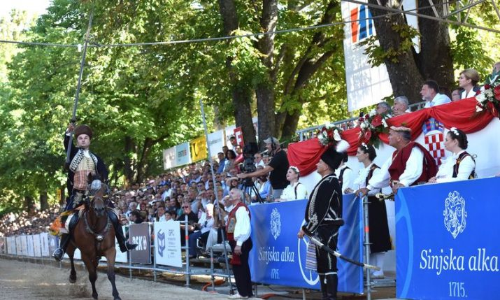 Sinjska Alka to take place for 306th time on 8 August