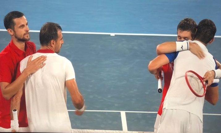 Olympics: Gold for Mektić and Pavić in historic all Croatian final
