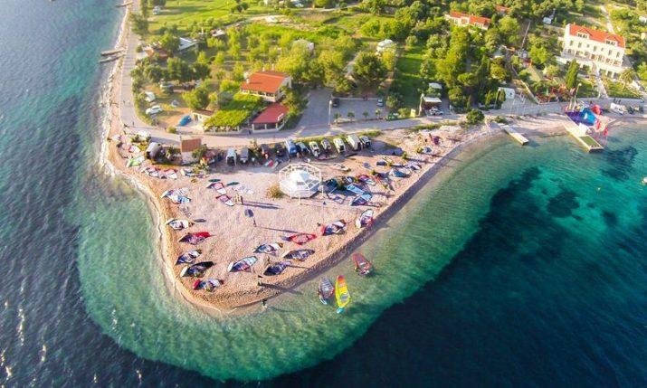 Viganj: Big tourism increase boosted by international windsurfing championships