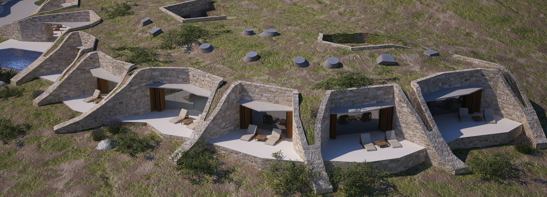 Villa Nai 3.3: Luxury hotel immersed into 100-year-old olive grove