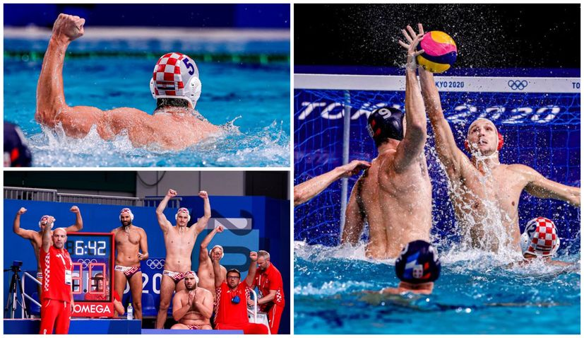 Olympics: Croatia beats Serbia to secure quarterfinal in water polo