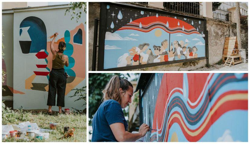 PHOTOS: Three talented ladies create new street art around Zagreb