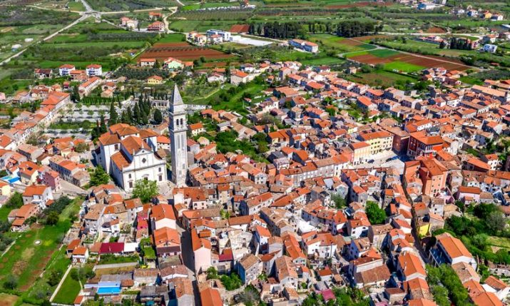 Photogenic Vodnjan – a town of murals, romantic little churches and golden olive groves