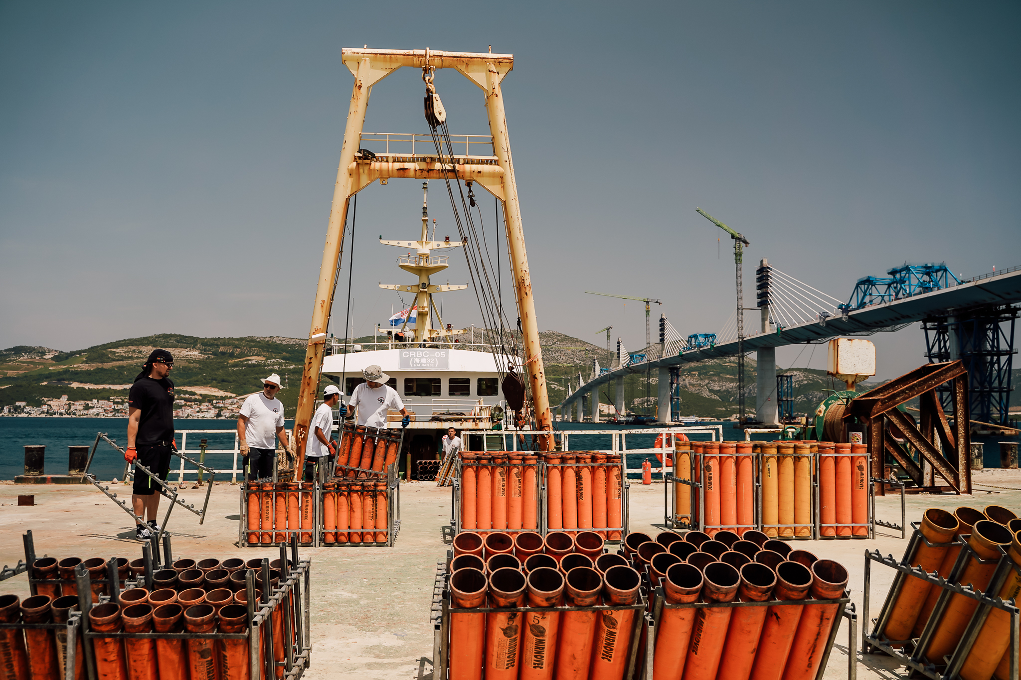The story behind the fireworks display celebrating Pelješac bridge connection