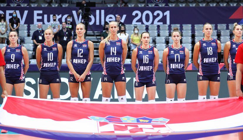 Women's EuroVolley: Croatia reach the last 16
