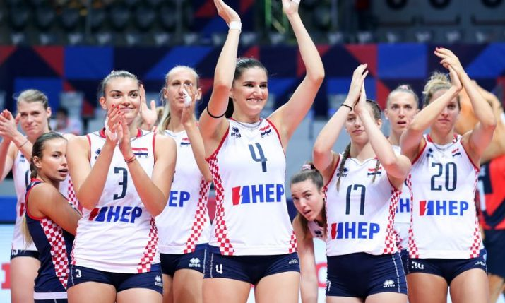 Women's EuroVolley: Croatia's great run ended by France