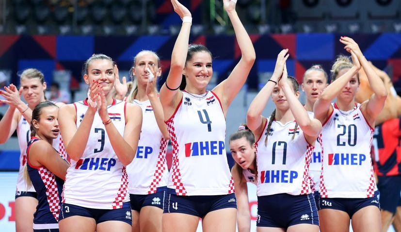 Croatia make last 16 of women's volleyball euros