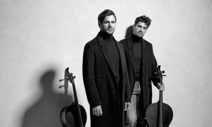 VIDEO: 2CELLOS release new album 'Dedicated' with Guns N' Roses cover