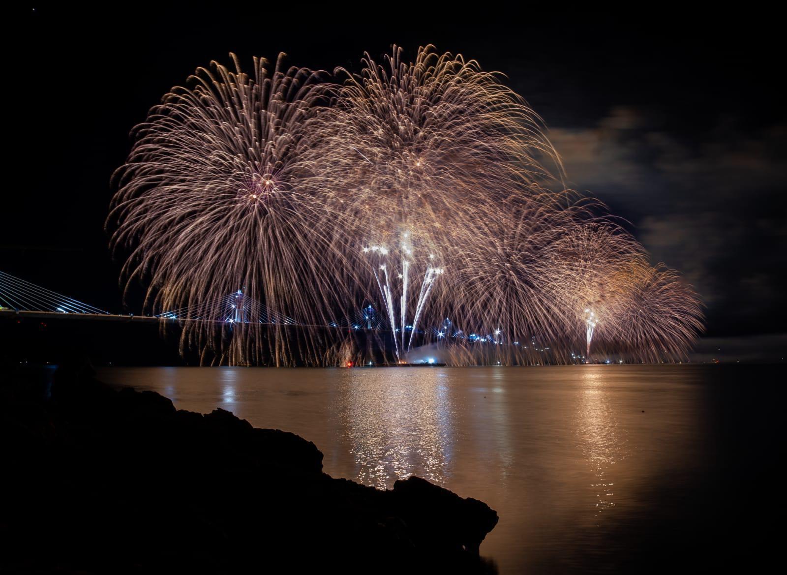 The story behind the fireworks display celebrating Pelješac bridge connection-5