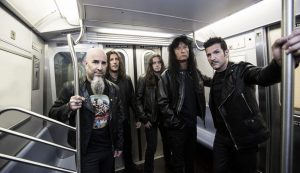 Legendary metal band Anthrax celebrating 40 years with Zagreb concert