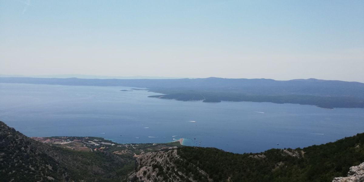 From which stone was Bol on the island of Brač built?