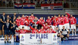 Croatia take silver at European U-19 Handball Championship