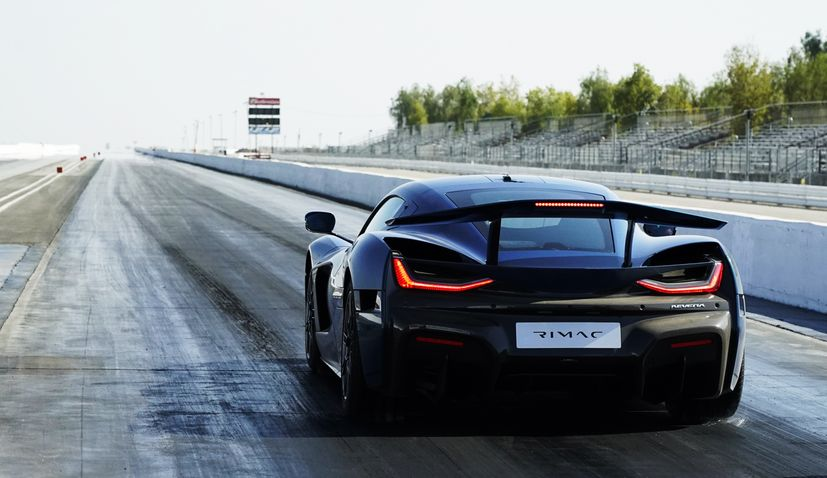 VIDEO: Rimac Nevera sets world record for the fastest accelerating production car