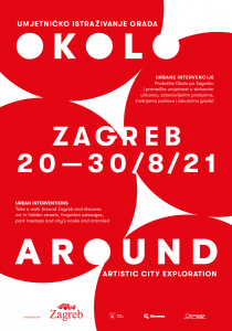 """""""Okolo"""" (Around) begins - find out what artistic surprises await you on the streets of Zagreb for the next ten days"""