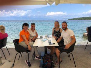 Theresa bikes 600 km to Croatia to hotel where she was born 40 years ago