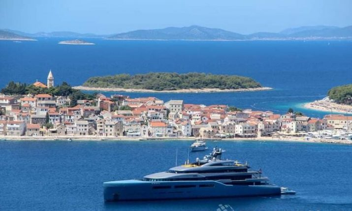 Croatia world's 6th most popular destination for mega-yachts