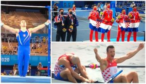 Croatia ended the Games with 8 medals,