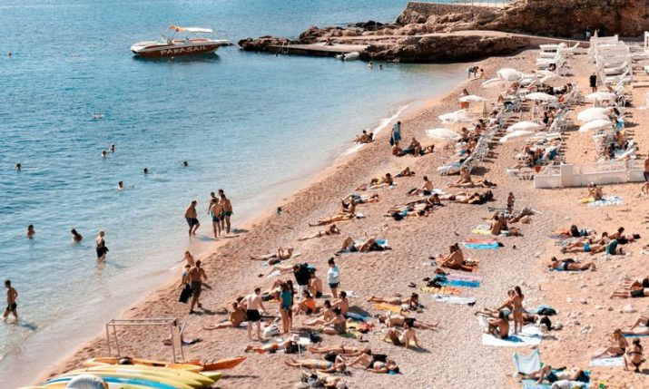 Croatia records 3.7 million tourists in July