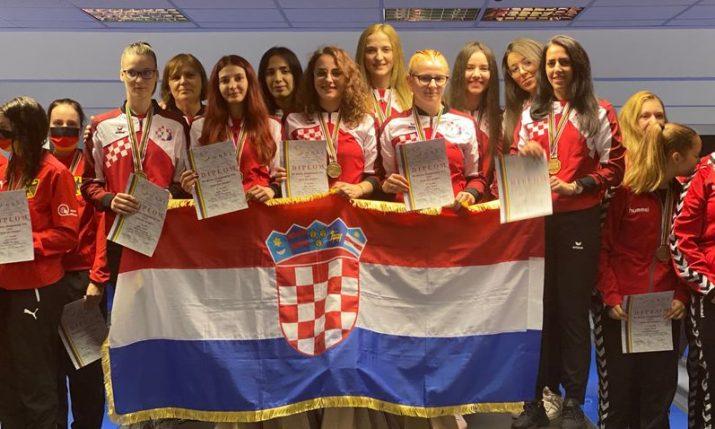 Croatian girls win gold at World U-23 Ninepin Bowling Championships