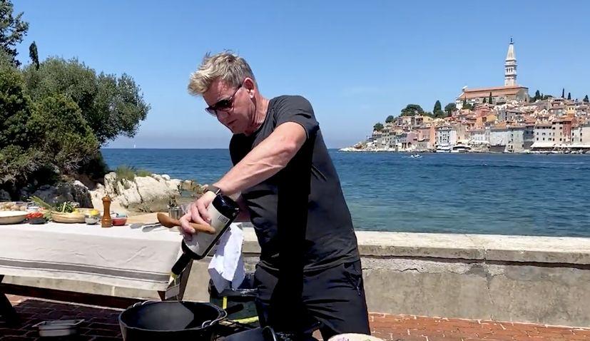 VIDEO: Gordon Ramsay makes a quick Croatian seafood stew