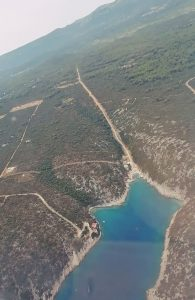 The beauties of the island of Hvar from a bird's eye view