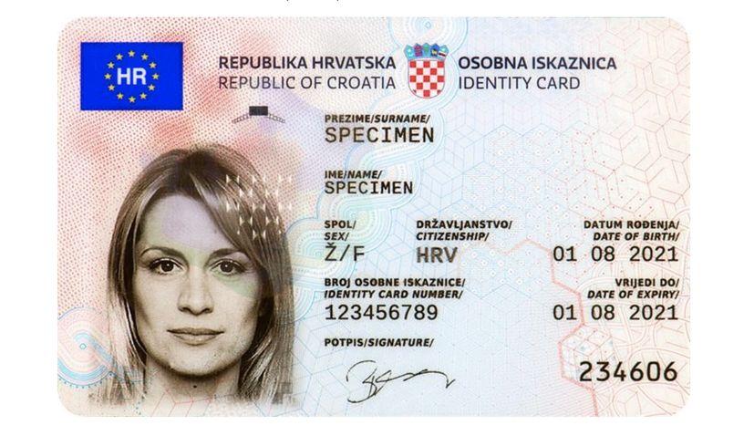 New Croatian ID cards introduced