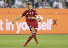 Josip Stanišić: Bayern Munich defender 'proud' after debut Croatia call-up