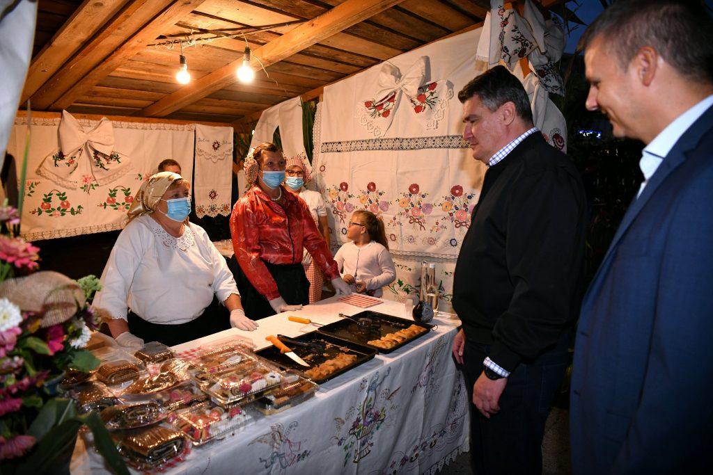 "The 40th edition of the traditional festival ""What our ancestors ate"", or ""Kaj su jeli naši stari"", opened on Friday"