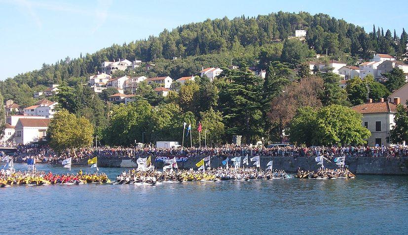 24th maraton lada held in neretva