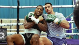 Anthony Joshua calls in top Croatian heavyweight to camp