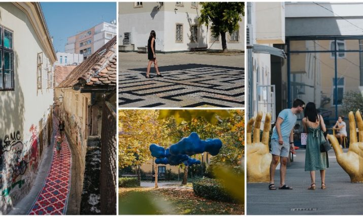 PHOTOS: Check out the new art installations around Zagreb