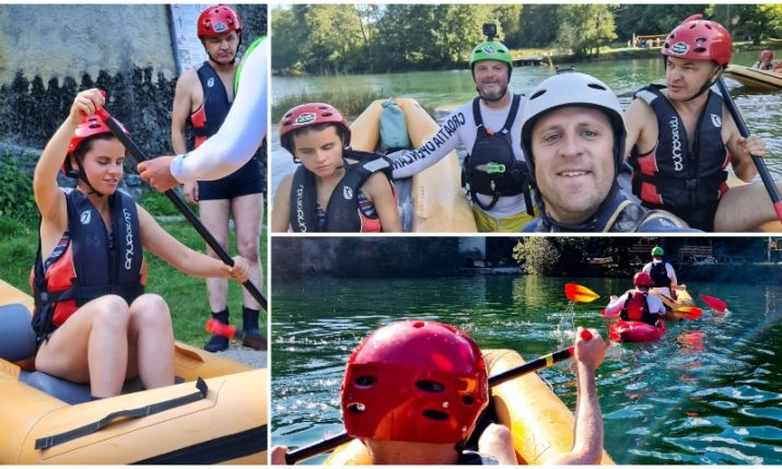 PHOTOS: Rafting for the blind for first time on Croatia's Mrežnica river