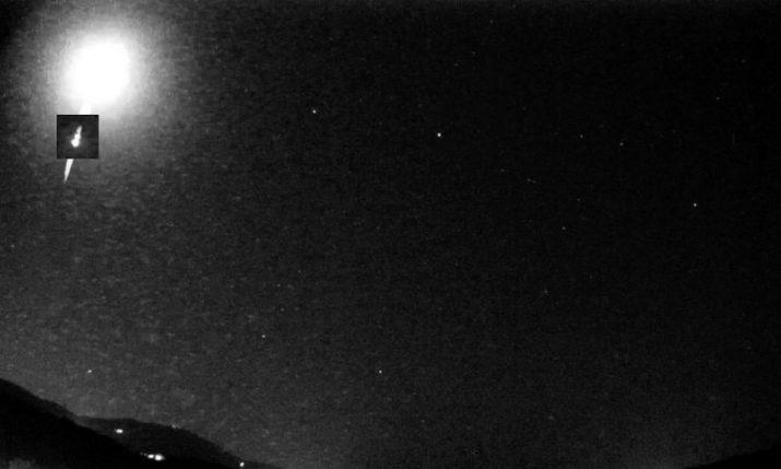 VIDEO: Meteorite falls near the city of Rijeka