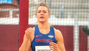 sandra perkovic croatia discus final Tokyo