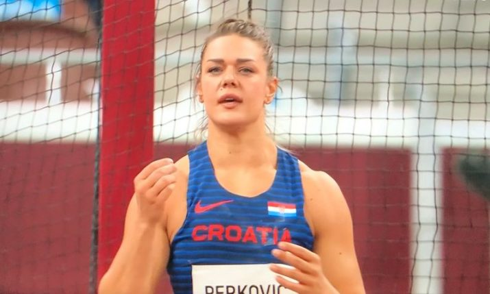 Croatia's Sandra Perković wins her 44th Diamond League in Paris