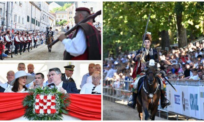 PHOTOS: Traditional Sinjska Alka held for 306th time in Sinj