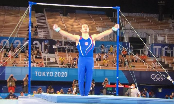 Olympics: Tin Srbić wins gymnastics silver medal for Croatia