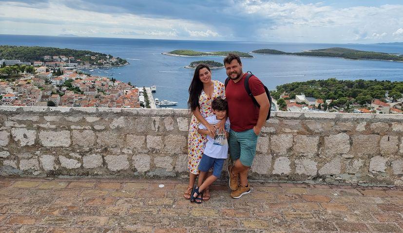 """Beauties of Croatia in popular Brazilian show """"Cris Pelo Mundo"""""""