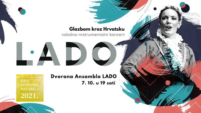 "LADO to perform ""Music through Croatia"" program at European Heritage Days event"