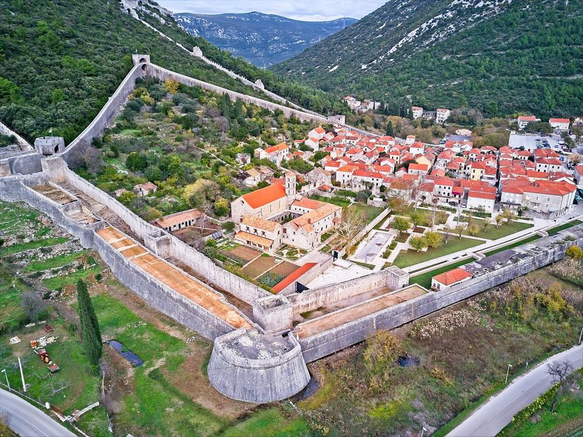 Croatia's Ston Wall - the world's second longest preserved fort - to host unique race
