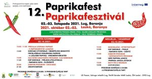 The 12th PaprikaFest will take place from 2-3 October in Lug