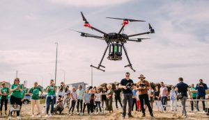 First afforestation using a drone takes place in Croatia