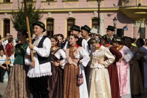 Traditional ceremonial parade ends 56th Vinkovci Autumn Festival