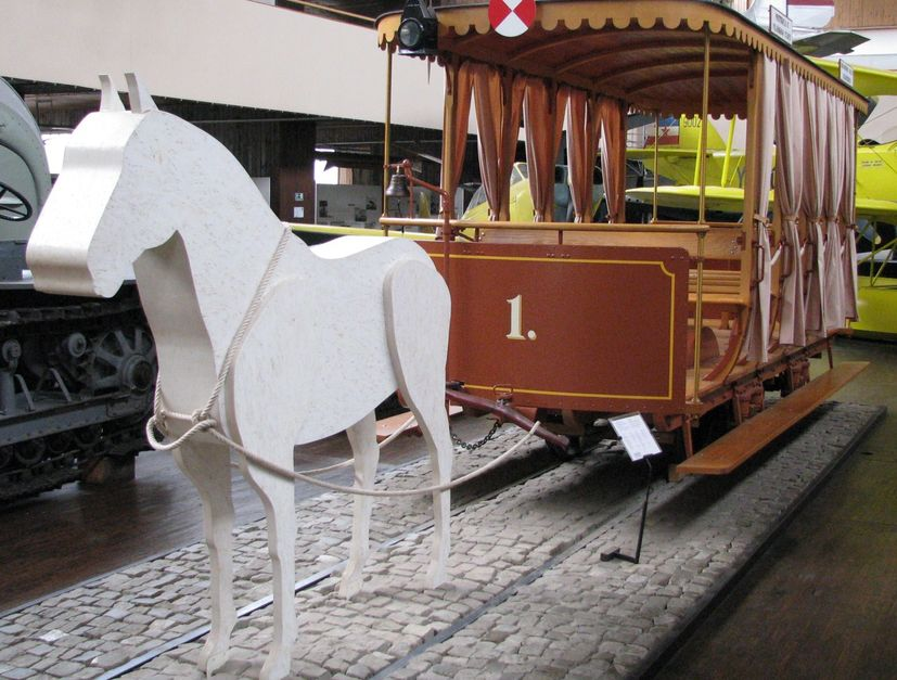 130 years first tram in zagreb