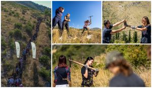 200 volunteers take part in 25th afforestation action in Dalmatia