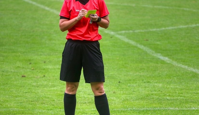 First female in history to referee a Croatian football first division match