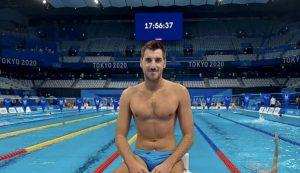 Croatia's swimmer Sinovčić wins bronze in men's 100m backstroke at Paralympics