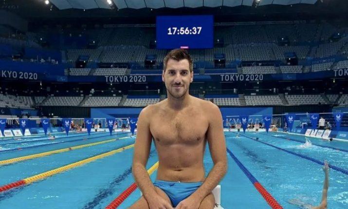 Croatian swimmer Dino Sinovčić wins bronze medal at Tokyo Paralympics