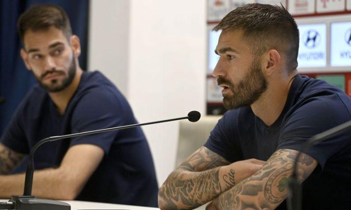 Marko Livaja and Ivica Ivušić ahead of clash with Slovenia