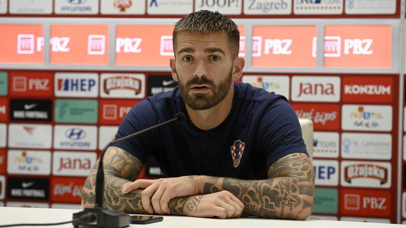 CROATIA faces Slovenia on Tuesday night at Poljud Stadium in Split Marko Livaja and Ivica Ivušić